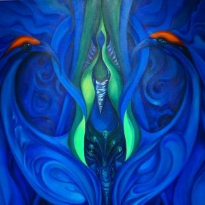 Queen Peacock