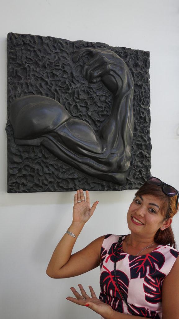 Dina Chhan Cambodian Sculptor & Painter