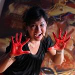 Artist Dina Chhna painter and sculpture bio photo