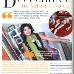 Cambodian Artist Dina Chhan from Phnom Penh interviewed in May 2014 Fashion Magaine