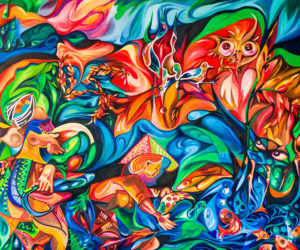 Dina Chhan Abstract Painting Nature of the Universe